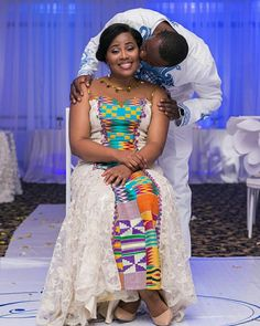 I Do Ghana | Congrats to Shelly & Sigli | Photo by Steven Adusei | Gown by Pistis Ghana | Kente Wedding | African Wedding