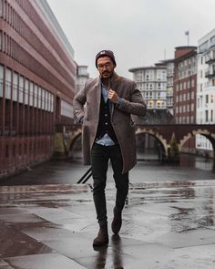 """9,538 Likes, 151 Comments - Justus Frederic Hansen (@justusf_hansen) on Instagram: """"This morning I thought to myself: why not go for a coat today? This afternoon I thought to myself:…"""""""