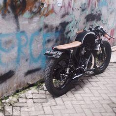 motomood: Honda CB125 cafe racer