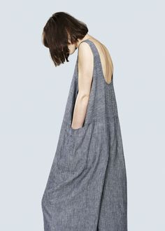 TANK SUIT - LINEN STRIPE — Study NY                                                                                                                                                                                 More