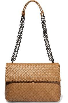 82ee53be64 Bottega Veneta - Olimpia medium intrecciato leather shoulder bag