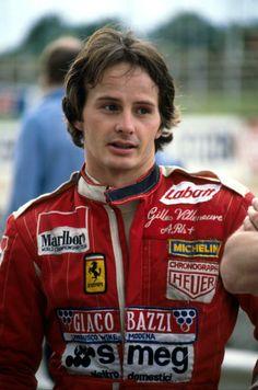 Gilles Villeneuve (CAN).Formula One World Championship Ferrari Racing, Ferrari F1, F1 Racing, Lionel Groulx, Robert Charlebois, Nascar, F1 Lotus, F1 2017, Gilles Villeneuve