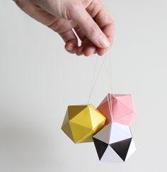 Image of SNUG.DECOBALLS DIY set of 6 pendants