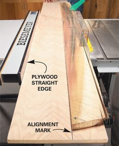 table saw tips