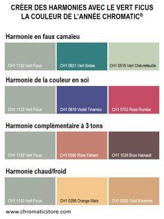 Retrouvez toute l'offre couleur CHROMATIC sur www.chromaticstore.com #harmonies #peinture #couleur2016