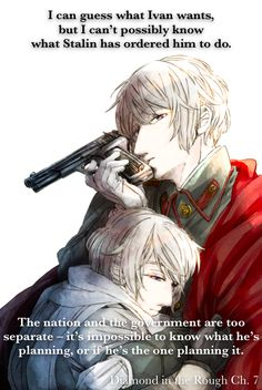 Image uploaded by Lily. Find images and videos about hetalia, russia and ivan on We Heart It - the app to get lost in what you love. Hetalia Quotes, Hetalia Headcanons, Hetalia Russia, Hetaoni, Hetalia Characters, Axis Powers, Country Art, Rough Diamond, Akatsuki