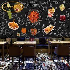 Popular Wallpaper For Restaurant For Chicken Concept Frites Restaurant, Logo Restaurant, Restaurant Design, Chicken Logo, Beer Chicken, Fried Chicken, Crispy Chicken, Pollo Kfc, Restaurant Bar