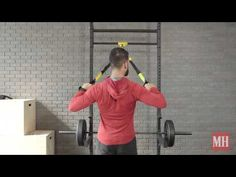 How To Do A TRX Muscle-Up - YouTube