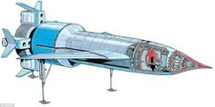 Thunderbird 1   Thunderbirds   Gerry Anderson