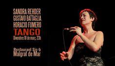 Viernes 18 de marzo, 23hs. Concierto de Tangos. con Gustavo Battaglia (guitarra) y Horacio Fumero (contrabajo) Sis-B - Malgrat de Mar- www.sis-b.com Avinguda del Bon Pastor, 6, 08380 – Te.: 937 61 18 49