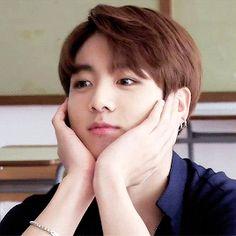 This GIF, Jungkook you're too young for me, stop! ✋