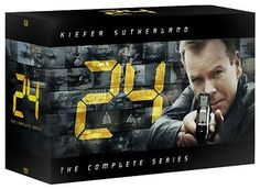 24: Complete TV Series Seasons 1 2 3 4 5 6 7 8 + Redemption DVD Boxed Set NEW!