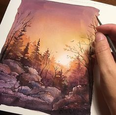 "7,757 Likes, 12 Comments - Watercolor illustrations (@watercolor.illustrations) on Instagram: "" Watercolorist: @awaisha_art #waterblog #акварель #aquarelle #painting #drawing #art #artist…"""