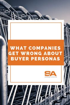 There are a few common pitfalls that marketers run into when developing buyer personas. Jill Johnson, SA director of data and analytics, is here to help. Check it out! Check It Out, Persona, Digital Marketing, Insight, America, Blog, Blogging, Usa