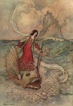Warwick Goble, Victorian-Edwardian era Fairy Tale illustrations