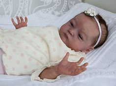 Lifelike Reborn Newborn Baby Girl from Sold Out Will by Natalie Scholl | eBay