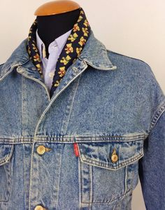 Vintage Mens Diesel Basic Denim Jacket size L Large  Stars Series Jeans  Blue #DIESEL #JeanJacket
