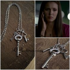 NEW VERSION The Vampire Diaries Jewelry  Elena by LAcchiappasogni