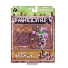 "Nouveau Officiel Minecraft Blaze 3/"" Action Figure Toy New In Box"