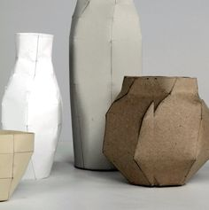 Ceramic vases, repinned by rheingruen.blogsot.de