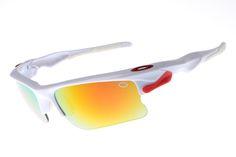 Oakley Star of Sunglasses Cream White Red Frame Colorful Lens 1182 [ok-2207] - $12.50 : Cheap Sunglasses,Cheap Sunglasses On sale