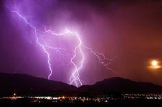 Moonlit Storm - El Paso, Texas