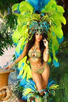 Trinidad Carnival Bliss 2016 Nymphea(shared via Carnival Info Mobile App get it here! http://carnivalinfo.com/mobile)