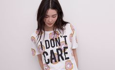 Pull&Bear - mujer - camisetas y tops - camiseta print all over - hielo - 05241300-V2015