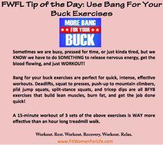 http://fitwomenforlife.com Do More Bang For Your Buck Exercises!