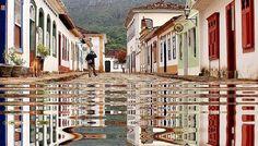 Tiradentes (después de la lluvia) Minas Gerais Brasil