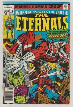 Eternals Vol 1 14 Bronze Age Comic Book. VF. by RubbersuitStudios #eternals #jackkirby #comicsforsale