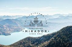MIRADOR by Say What Studio, via Behance
