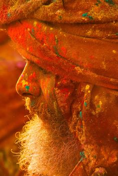 Holi Colours - Mathura, India