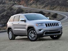 2015 Jeep Grand Cherokee Limited Silver