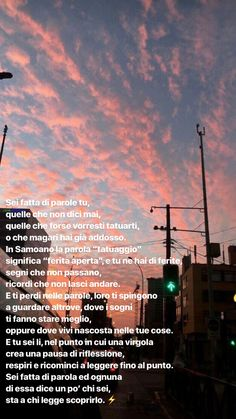 Ispirational Quotes, Tumblr Quotes, Happy Quotes, Best Quotes, Love Quotes, Sunset Quotes, Italian Quotes, Love Text, Motivational Phrases