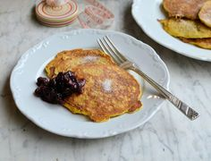 Got any leftover porridge? Make @KarenBurnsBooth's skinny glutenfree pancakes for #PancakeDay http://togbc.com/1DkNh0s @gbchefs