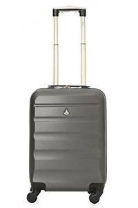 eeeb92dab a aerolite abs maleta equipaje de mano cabina rigida ligera 55 cm