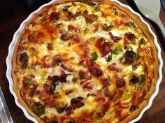 HVERDAGSTÆRTE Lasagna, Quiche, Pie, Breakfast, Ethnic Recipes, Food, Torte, Morning Coffee, Cake