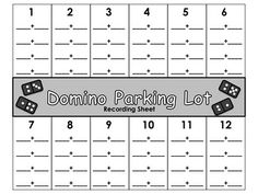 parking lot addition, I am going to put these in page protectors, and print others to make them into multiplication sheets, love this idea!!
