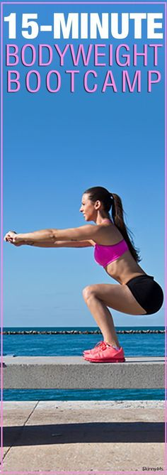 15-Minute Bodyweight Boot Camp Workout #15minuteworkout #bodyweightworkout #bootcamp