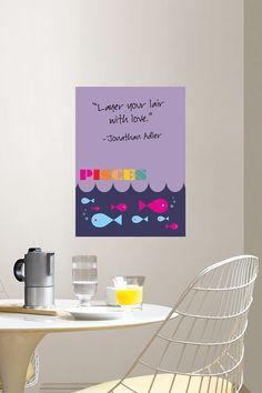 Zodiac Dry Erase Board - Pisces  Home #HomeAccessories