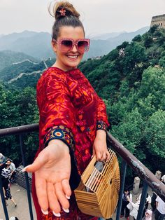 The Great Wall of China | Modest Fashion Blog 1998miss.com | @1998miss | Alexa Dudley