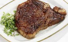 Pan-fried T-Bone Steak