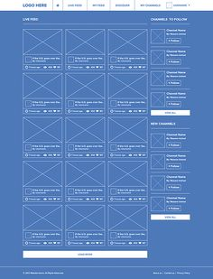 Social network ui ux blueprint wireframe best web design social network ui ux by waseem arshad via behance 2p2p malvernweather Gallery