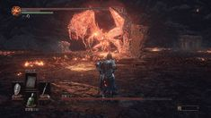 Dark Souls 3 bosses are so easy you can fight them laying down.