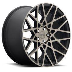 Rotiform Wheels R111 BLQ MBD-Black Mach DDT