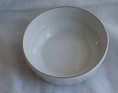 Vintage Original AMERICA WEST AIRLINES Bowl /& Silverware Set 1970s Ceramic NOS