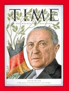 Konrad Adenauer - Time's man of the year in 1954