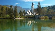 Barely one hour from Slovenia's capital, Ljubljana, Lake Bohinj is in the middle of nowhere – out of season and time – and it's wonderful.