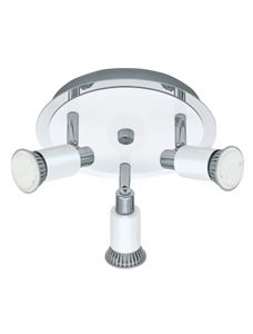 Picture of Eridan White LED Three Light Spotlight (20864) Eglo Lighting $145